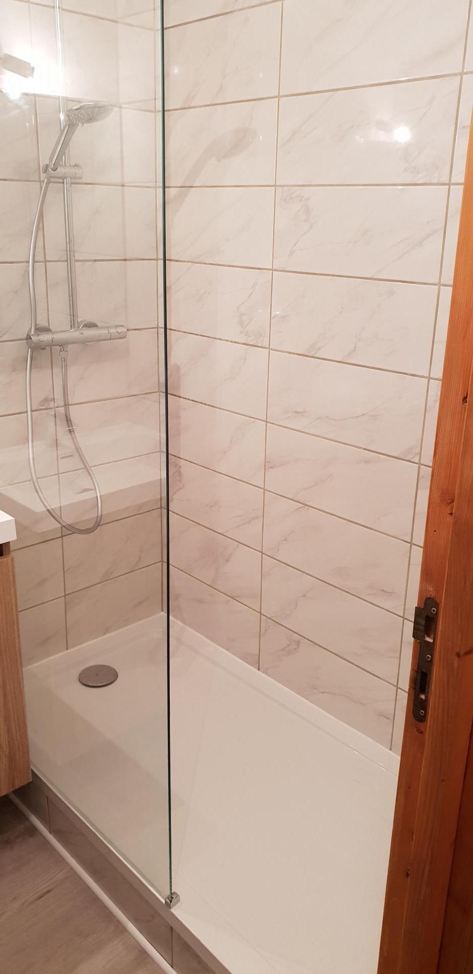 Mise en place douche