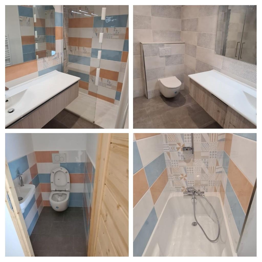 Création salles de bains-wc