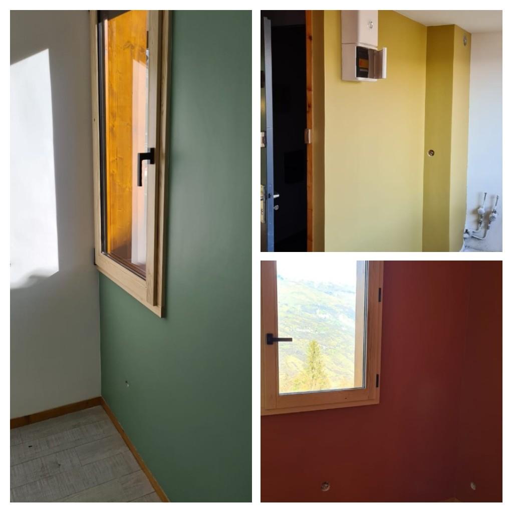 Rénovation des murs ( peinture)