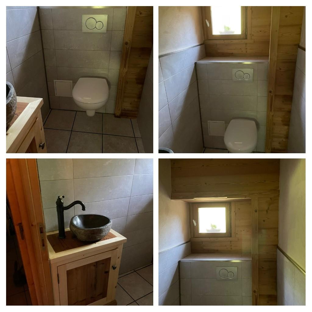 Création WC avec lave mains