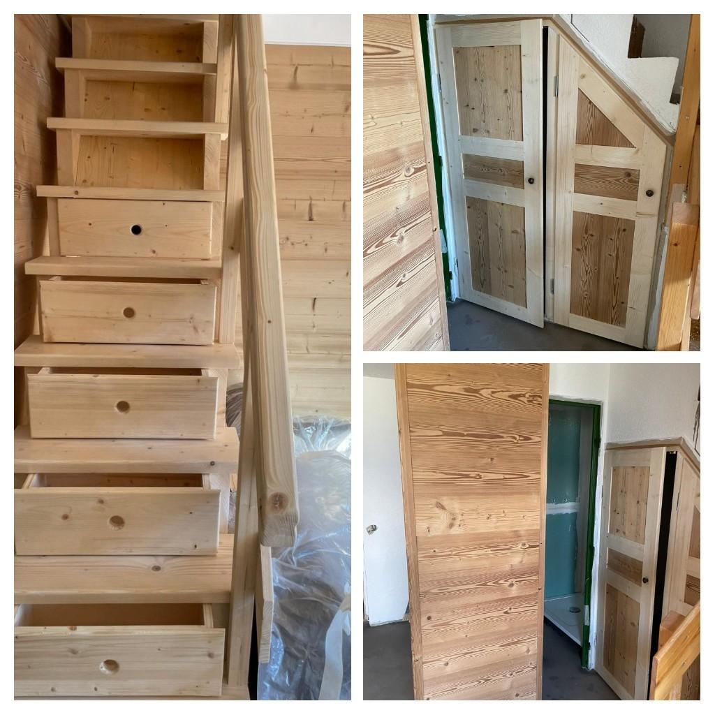 Création escalier et mobilier sur mesure