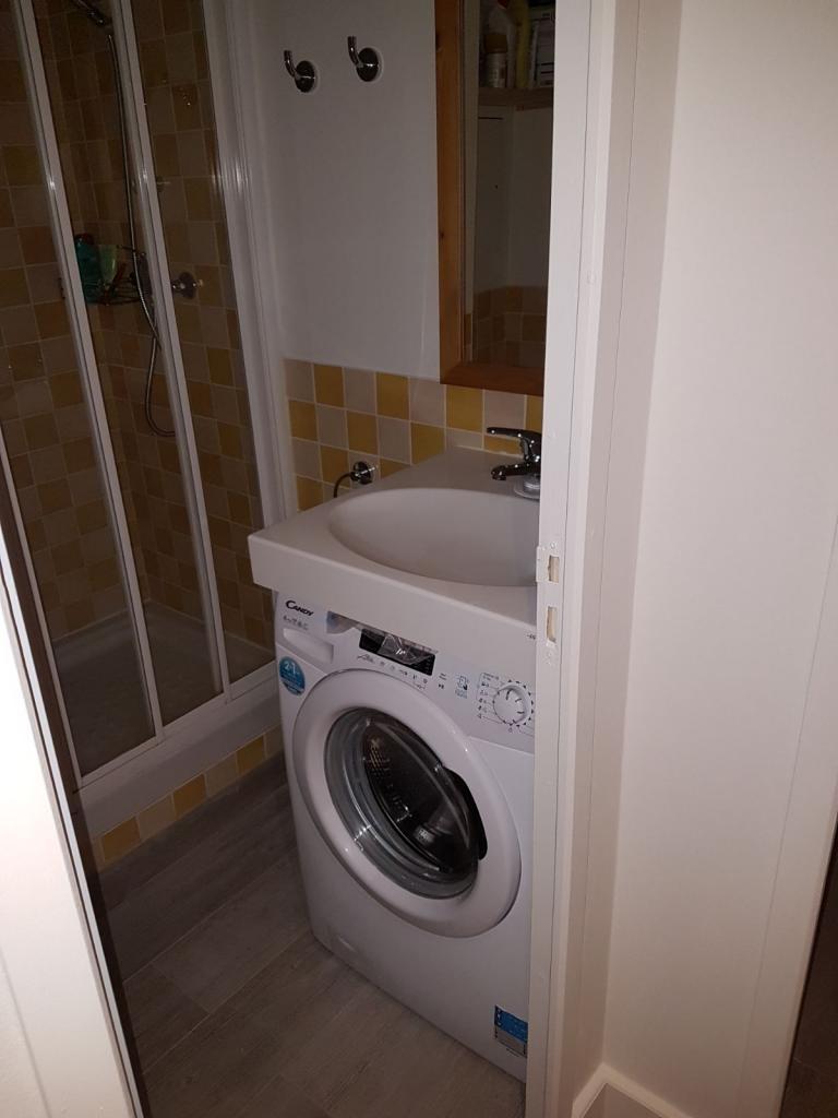 Mise en place Lave Linge dans la salle d'eau