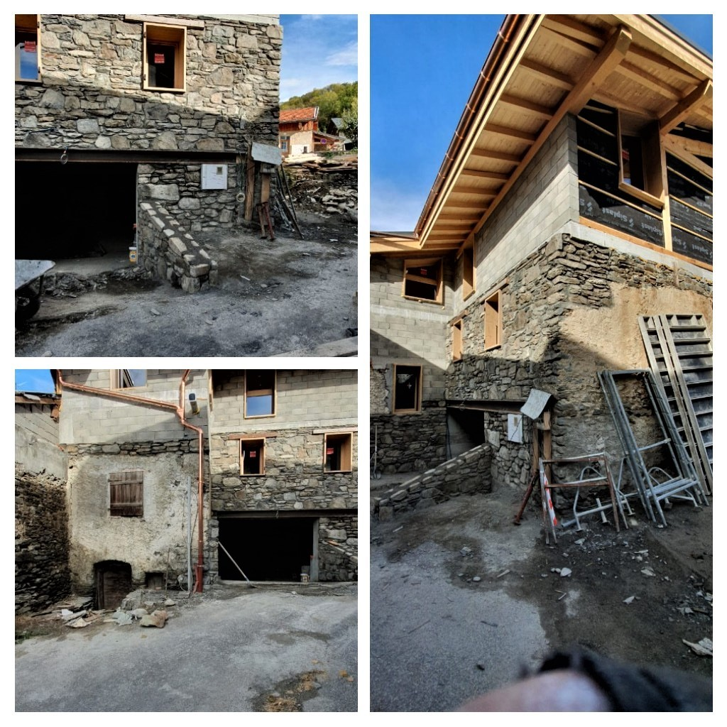 Rénovation maison de village - Extérieur
