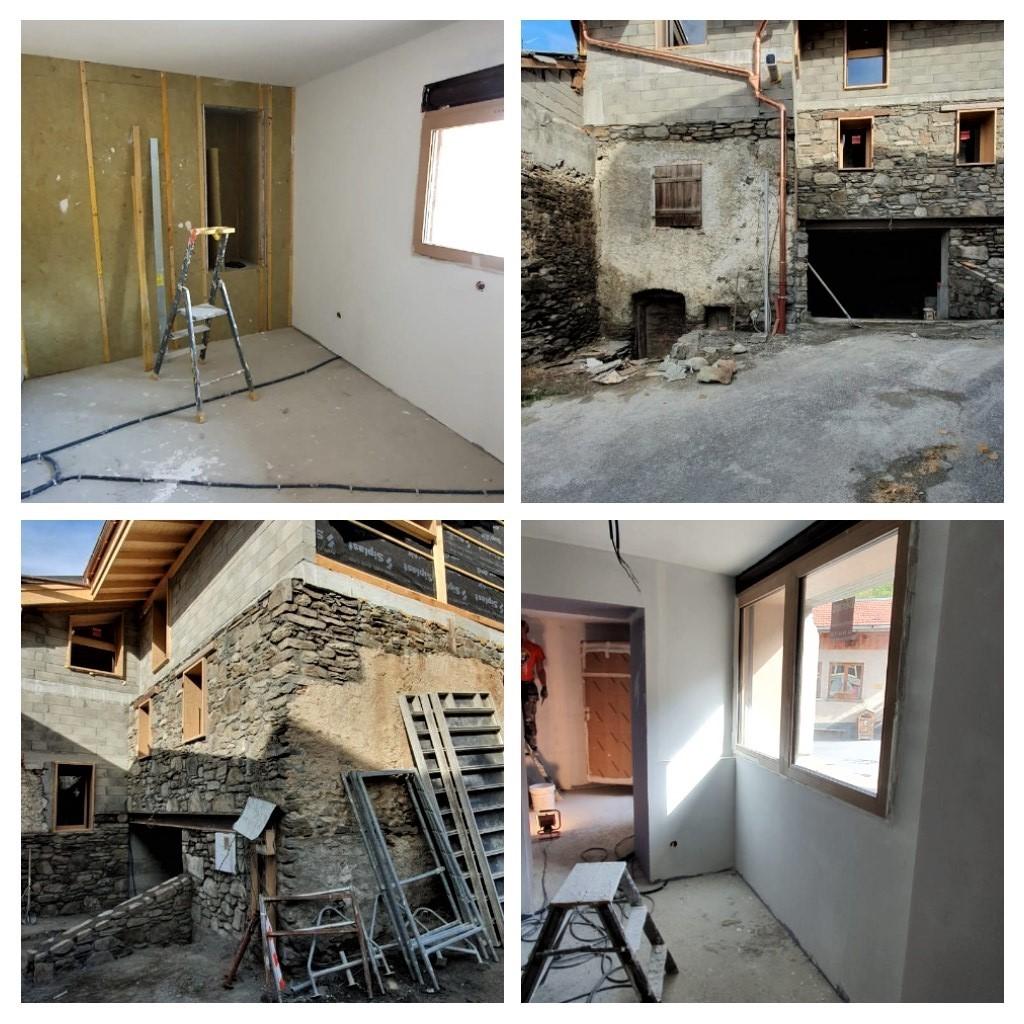 Rénovation complète maison de village :  Extérieur -Intérieur
