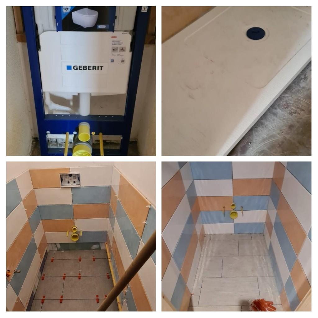 Rénovation salle d'eau - wc
